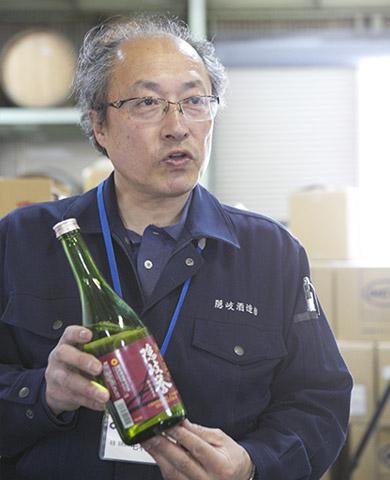 隠岐酒造 毛利彰さん